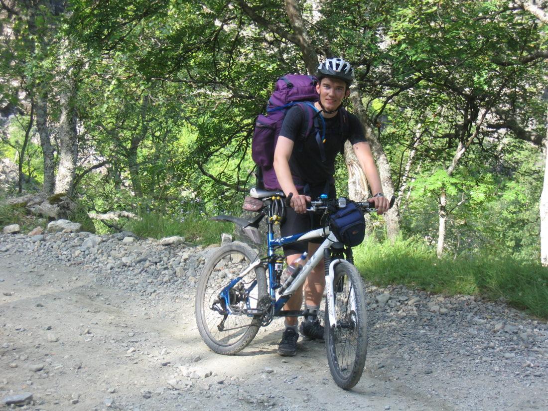 Som rallar på sykkel