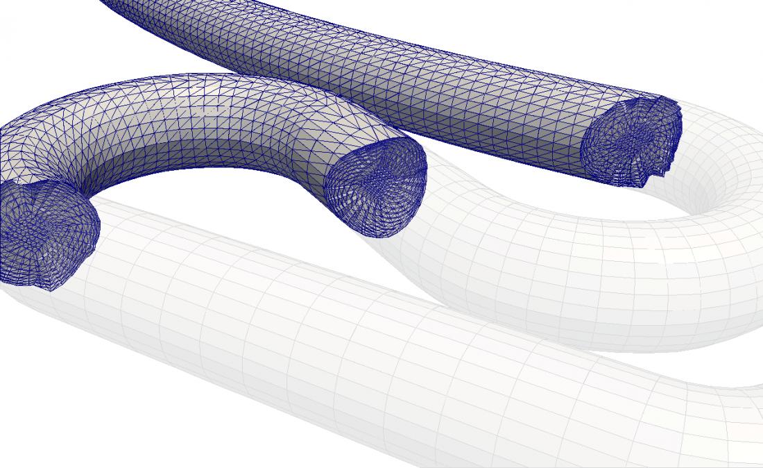Automating blockMesh pipe geometries in OpenFOAM
