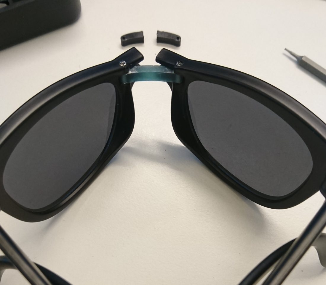 Fixing foldable sunglasses with Formlab 3D printer